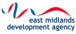 East Midlands Development Agency logo