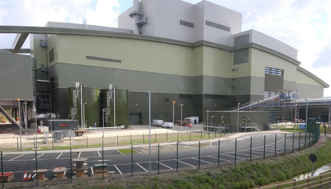 Caunton Engineering Ltd Energy From Waste Efw Plant